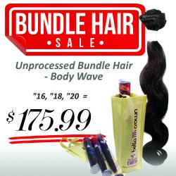 "3 Bundles (16"", 18"", 20"") - Body Wave"