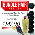 "3 Bundles (14"", 16"", 18"") - Deep Wave"