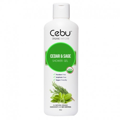 Cedar & Sage Herbal Extract Shower Gel